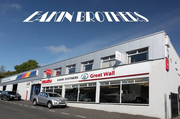 Eakin Brothers celebrating over 90 years in the motor trade