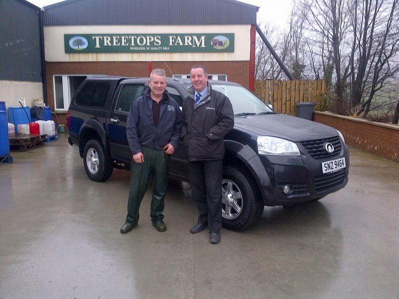 Roy McCrea - Taking delivery of Great Wall Steed SE